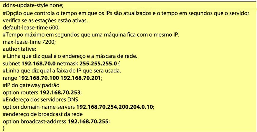 Script DHCP