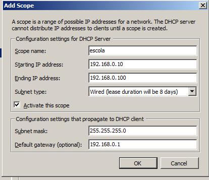 09 - configurando escpo